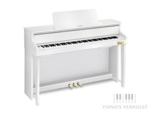 Casio Celviano GP-310 - Casio hybride piano in wit mat - Piano's Verhulst