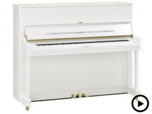 Yamaha DU1 ENST PWH - Yamaha Zelfspelende U1 piano in wit hoogglans - Zelfspelende piano Yamaha