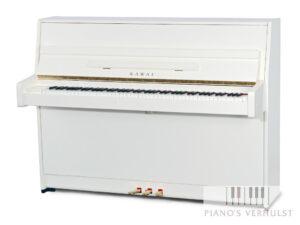 Kawai K15E PWH wit hoogglans piano