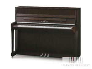 Kawai K200 - akoestische piano donker noten chroom