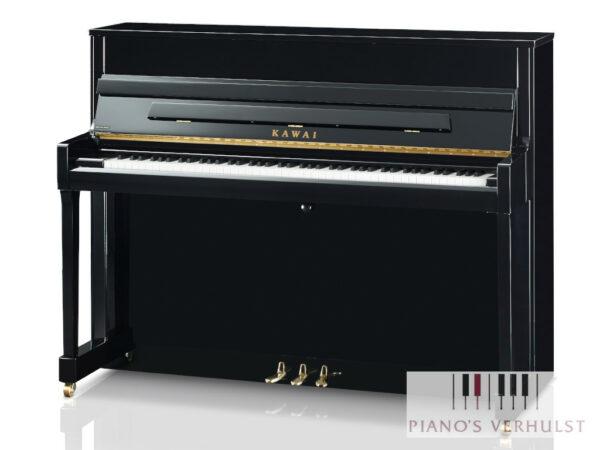 Kawai K-200 PE - akoestische piano in zwart hoogglans