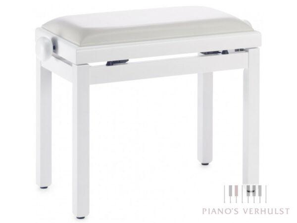 Pianobank Discacciati Basic WIt satin skai vinyl