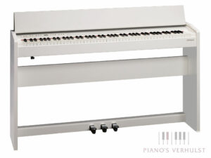 Roland F-140R WH - Compacte digitale piano in wit mat van Roland