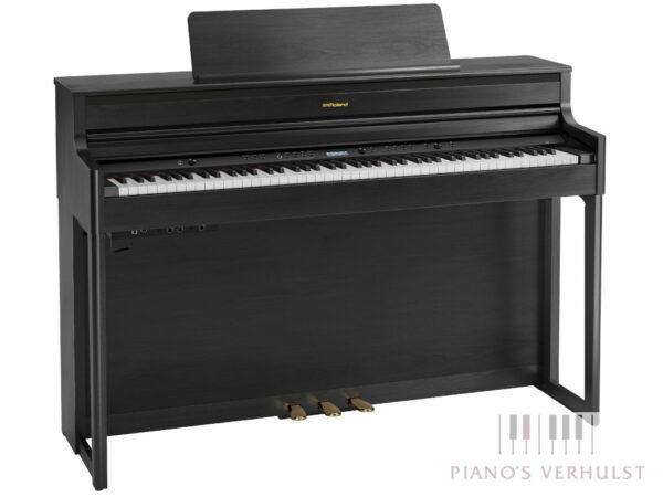 Roland HP 704 CH - Digitale piano Roland in mat zwart - Piano's Verhulst