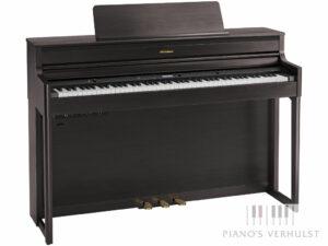 Roland HP 704 DR - Roland digitale piano in dark rosewood - responsief klavier