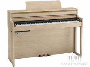 Roland HP 704 LA - Digitale piano Roland in licht eiken - achterzijde