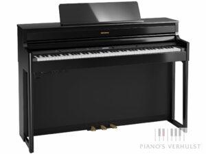 Roland HP 704 PE - Digitale piano Roland in zwart hoogglans - model buffetpiano