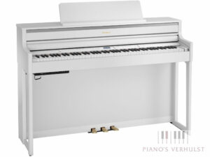 Roland HP 704 WH - Roland digitale piano wit - Piano's Verhulst Poperinge