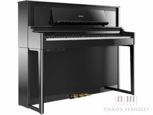 Roland LX706 PE - Roland digitale piano in zwart hoogglans