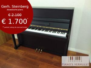 Zwarte tweedehands piano te koop - Akoestische piano voor beginners te koop