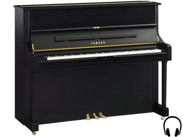 Yamaha U1 SH2 SE - Yamaha piano met silent systeem in zwart mat - Silent Piano Yamaha