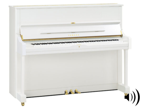 Yamaha U1 TA2 PWH - Yamaha transakoestische piano in wit hoogglans - TransAcoustic Piano Yamaha