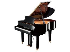 Yamaha C1X PE - Yamaha vleugelpiano in zwart hoogglans - 161 cm