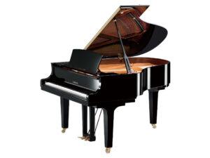 Yamaha C2X PE - Yamaha vleugelpiano in zwart hoogglans - 173 cm