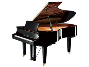 Yamaha C6X PE - Yamaha vleugelpiano in zwart hoogglans - 212 cm