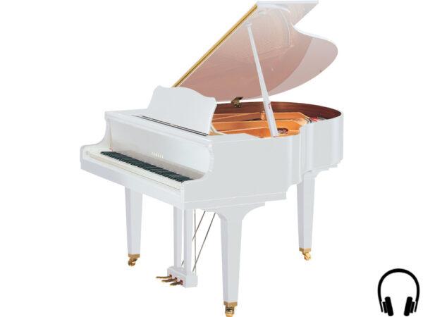 Yamaha GB1 SC2 PWH - Yamaha vleugelpiano wit met silent systeem