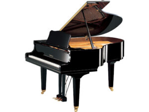 Yamaha GC2 - Yamaha vleugelpiano in zwart hoogglans - 173 m