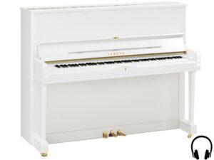 Yamaha YUS1 SH2 PWH - Yamaha piano met silent systeem in wit hoogglans - silent piano Yamaha