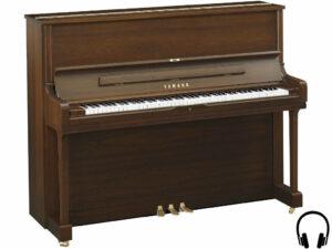 Yamaha YUS1 SH2 SAW - Yamaha piano met silent systeem in satin american walnut - silent piano Yamaha