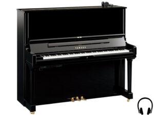 Yamaha YUS3 SH2 PE - Yamaha piano met silent systeem in zwart hoogglans - silent piano Yamaha