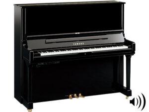 Yamaha YUS3 TA2 PE - Yamaha transakoestische piano in zwart hoogglans - TransAcoustic Piano Yamaha
