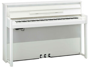 Yamaha avantgrand NU1X PWH - Yamaha hybride piano 88 toetsen