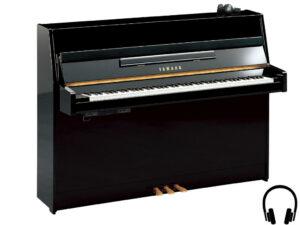 Yamaha b1 SC2 PE - Yamaha buffetpiano zwart hoogglans met silent systeem - silent piano zwart Yamaha