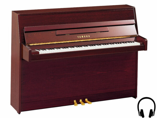 Yamaha b1 SC2 PM - Yamaha piano met silent systeem in mahonie - Yamaha Silent Piano