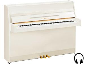 Yamaha b1 SC2 PWH - Yamaha buffetpiano wit met silent systeem - silent piano wit Yamaha