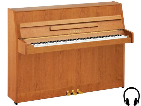 Yamaha b1 SC2 SNC - Yamaha piano met silent systeem in satin natural cherry - Yamaha Silent Piano
