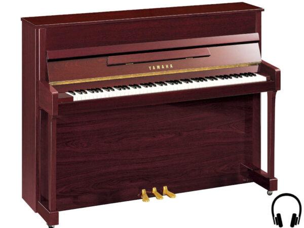 Yamaha b2 SC2 PM - Yamaha piano met silent systeem in mahonie - Yamaha Silent Piano
