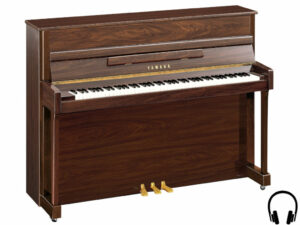 Yamaha b2 SC2 PW - Yamaha piano met silent systeem in polished walnut - Yamaha Silent Piano