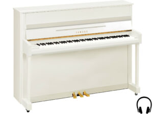 Yamaha b2 SC2 PWH - Yamaha piano met silent systeem in wit hoogglans - Yamaha Silent Piano