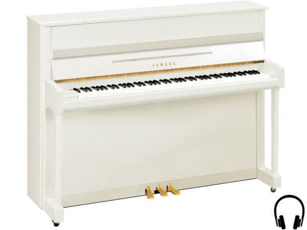 Yamaha b2 SC2 PWH - Yamaha piano met silent systeem in wit hoogglans - Yamaha Silent Piano