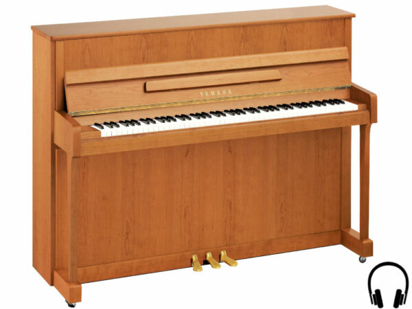Yamaha b2 SC2 SNC - Yamaha piano met silent systeem in satin natural cherry - Yamaha Silent Piano