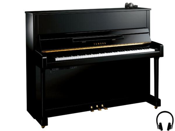 Yamaha b3 SC2 PE - Yamaha buffetpiano in zwart hoogglans met silent systeem - silent piano zwart Yamaha