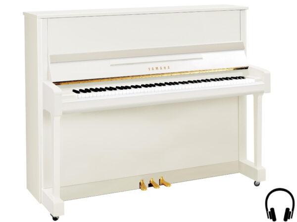 Yamaha b3 SC2 PWH - Yamaha piano met silent systeem in wit hoogglans - Yamaha Silent Piano