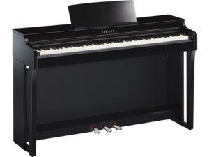 Yamaha CLP 625 PE zwart hoogglans - Yamaha digitale piano huren of kopen