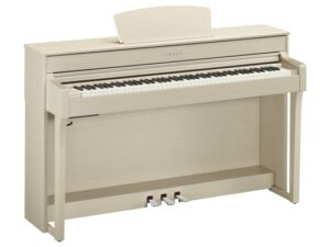 Yamaha CLP 635 WA wit essen - Yamaha digitale piano huren of kopen