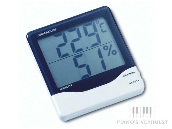 hygrometer thermometer met geheugenfunctie