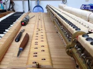 piano herstellen vleugelpiano dries verhulst