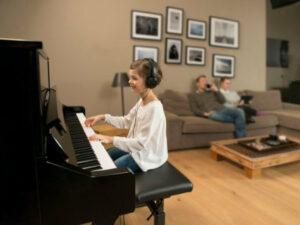Silent piano kopen - Stil-akoestische piano kopen - Piano's Verhulst Poperinge