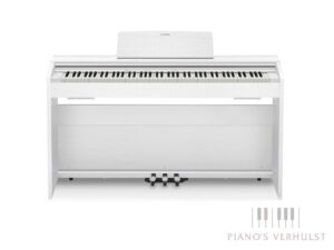 Witte digitale piano Casio Privia PX 870 WE voor beginners