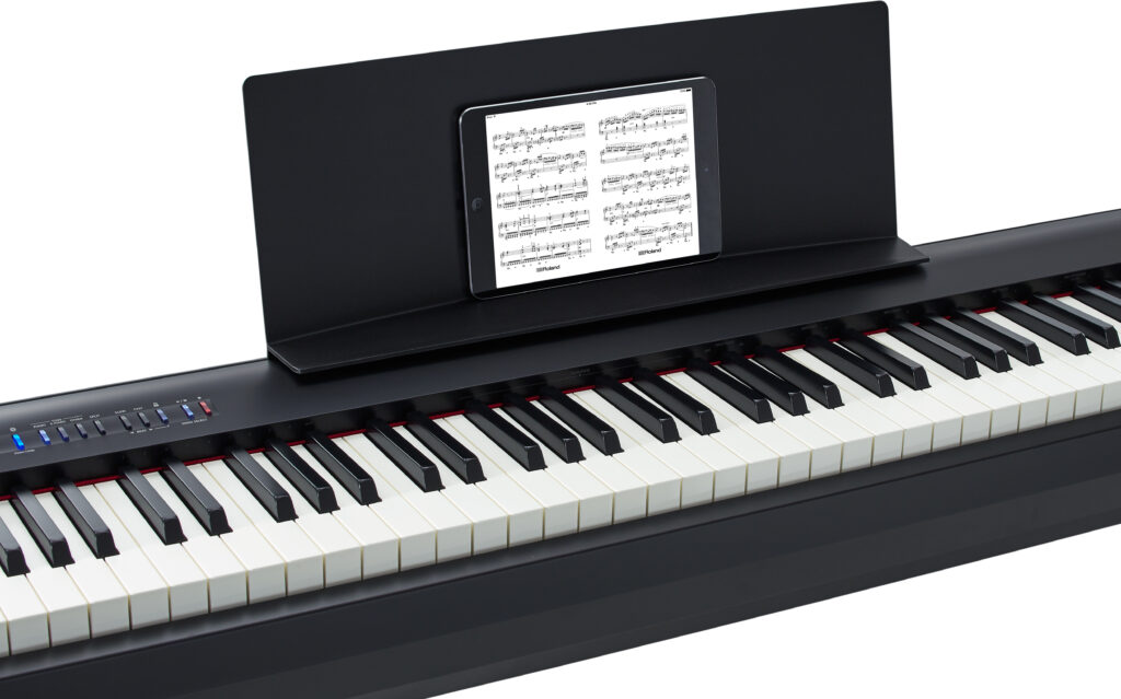 Draagbare digitale piano