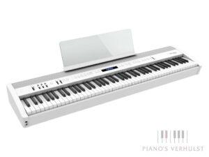 Roland FP-60X WH - witte draagbare digitale piano - gewogen klavier