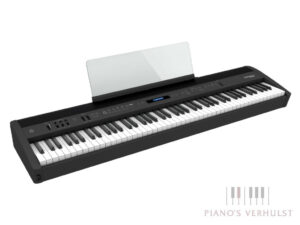 Roland FP-60X - zwarte draagbare digitale piano - gewogen klavier