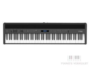 Roland FP-60X - zwarte draagbare digitale piano gewogen toetsen