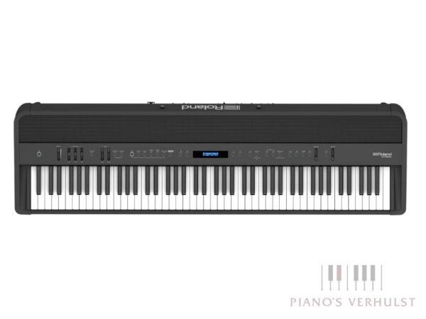 Roland FP-90X - zwarte draagbare digitale piano - gewogen klavier