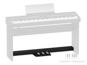Roland KPD-90 BK - zwarte pedaalunit voor Roland FP-60X BK en Roland FP-90X BK zwarte digitale piano