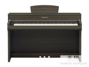 Yamaha CLP 735 DW - Yamaha bruine digitale piano 88 toetsen klavier